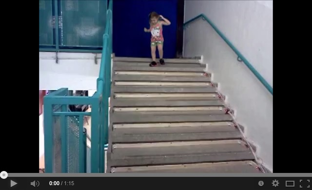 youtube of stairs in action